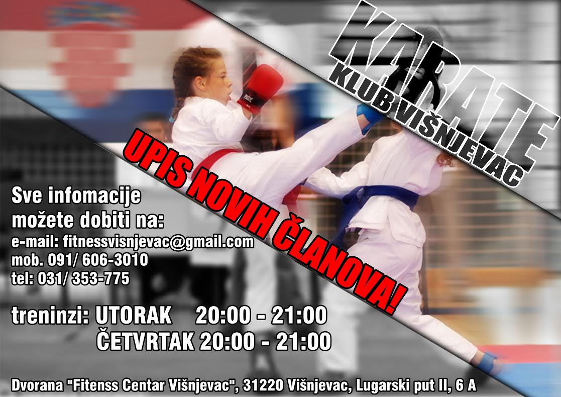 Karate Klub Višnjevac - Fitness Centar Višnjevac (Osijek)